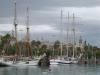 Widok na Barcelonę od strony portu