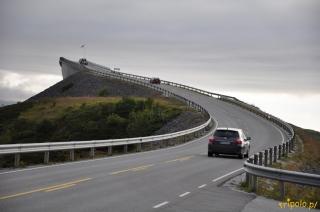 Norwegia, krajobrazy - droga atlantycka