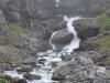 Norwegia, wodospad przy Trollstigen