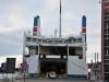 Wjazd na prom ze Świnoujścia do Ystad