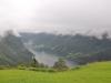 Norwegia, krajobrazy po drodze - Geirangerfjord
