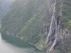 Norwegia, Geirangerfjord - wodospad
