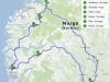 Norwegia - nasza trasa na pierwszy raz