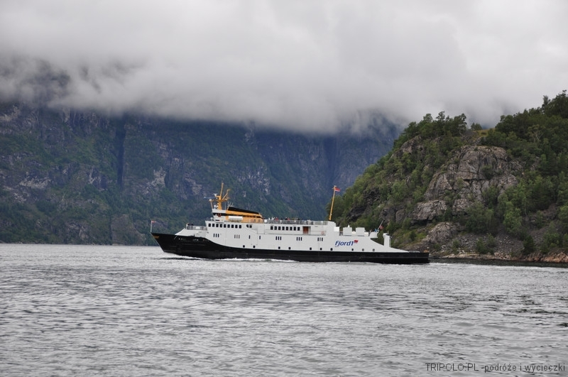 Geirangerfjord - prom osobowo-samochodowy