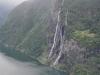 Geirangerfjord widziany z góry