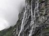 Geirangerfjord - wodospad De Syv Søstre (Siedem Sióstr)