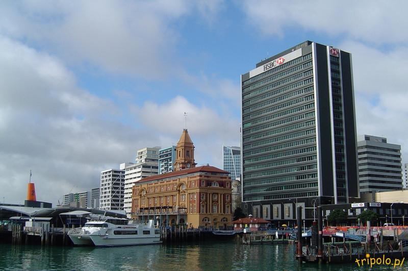 Auckland, Nowa Zelandia - terminal promowy