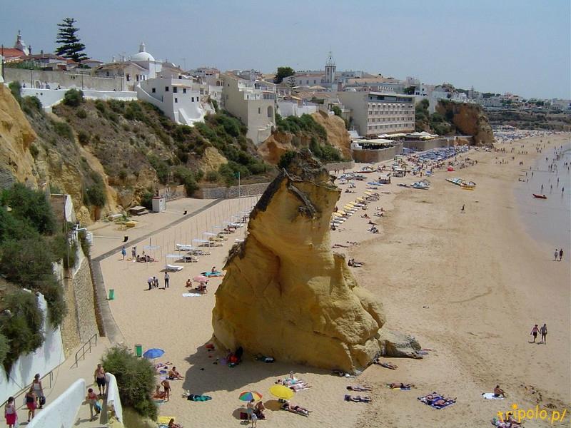 Portugalia, Algarve - plaża w Albufeira