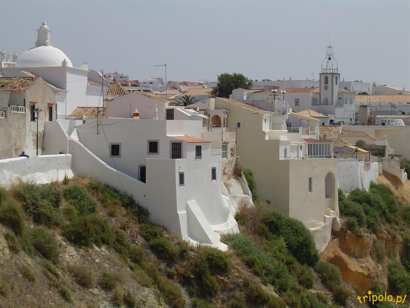 pPortugalia, zabudowa miasteczka Albufeira