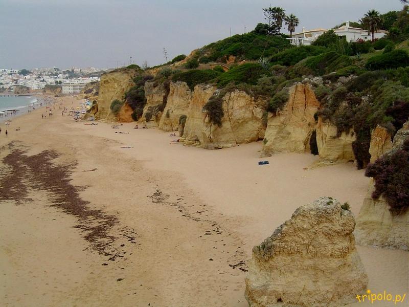 Portugalia, Algarve - plaża w okolicy Albufeira