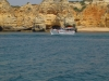 Portugalia, wybrzeże Algarve od strony wody