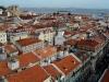 Portugalia, Lizbona -  - panorama starego miasta