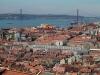 Portugalia, Lizbona -  - panorama starego miasta i rzeki Tag