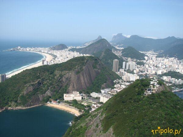 Widok na Rio de Janeiro z Głowy Cukru