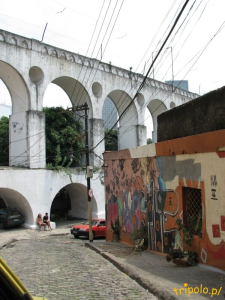 Rio de Janeiro - akwedukt Carioca (Arcos da Lapa)