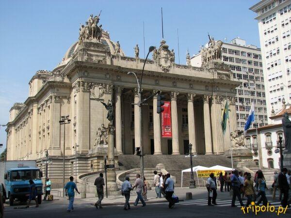 Palácio Tiradentes w historycznym centrum Rio