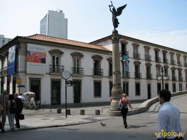 Obrazki z historycznego centrum Rio
