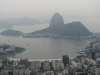 Panorama Rio i zatoki Guanabara ze szczytu Corcovado