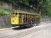 Stary tramwaj w dzielnicy Santa Teresa