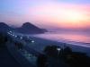 Plaża Copacabana o brzasku