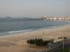 Plaża Copacabana wcześnie rano