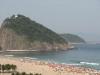 Plaża Copacabana - widok na skały
