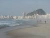 Plaża Copacabana - poranek, dzień następny