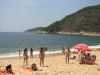 Niewielka ale urokliwa plaża Vermelha