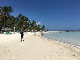 Boca Chica - rajska plaża w okolicy Santo Domingo