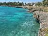 Wybrzeże w okolicy w okolicy Santo Domingo