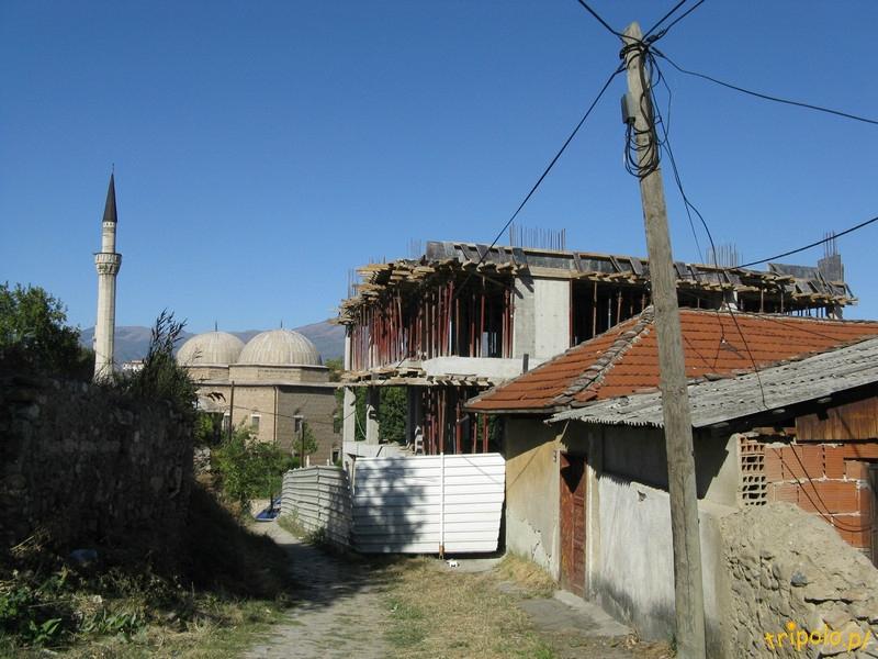Macedonia, Skopje - otoczenie Meczetu Isy Beja