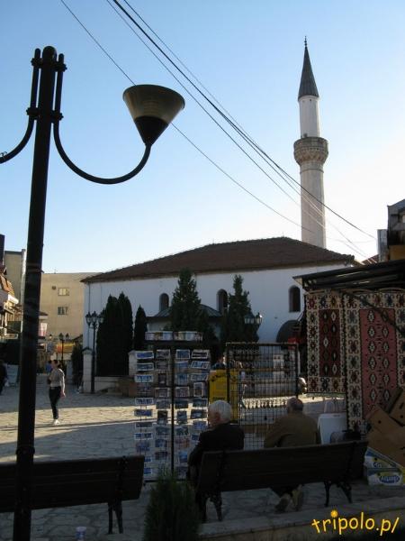 Macedonia, Skopje - jeden ze starych meczetów na Starym Mieście
