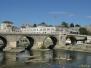 Skopje - Kamienny Most i rzeka Wardar