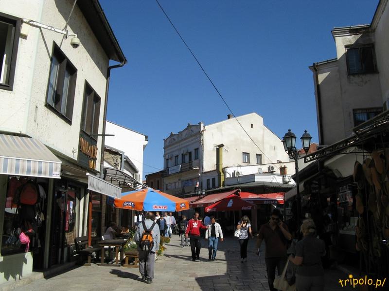 Klimaty Starego Miasta w Skopje w Macedonii