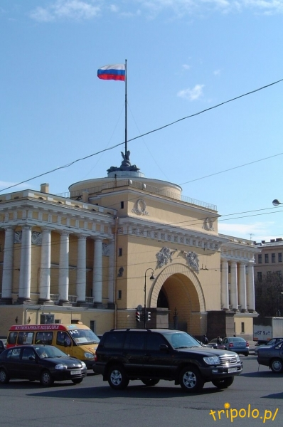 Budynek Admiralicji w Sankt Petersburgu