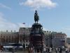 Sankt Petersburg - Plac św. Izaaka z pomnikiem cara Mikołaja