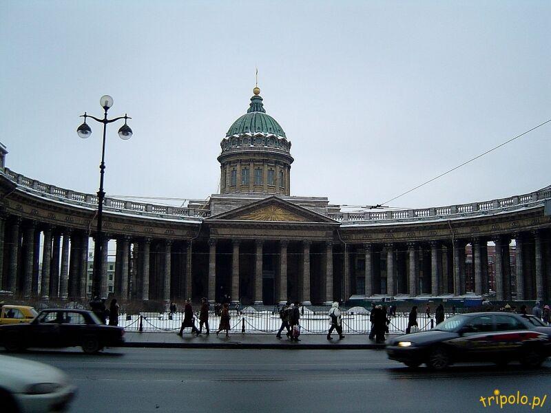 Sobór Kazański w Sankt Petersburgu przy Newskim Prospekcie