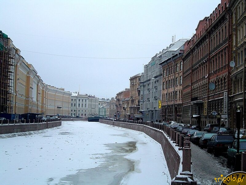 Zima w Sankt Petersburgu