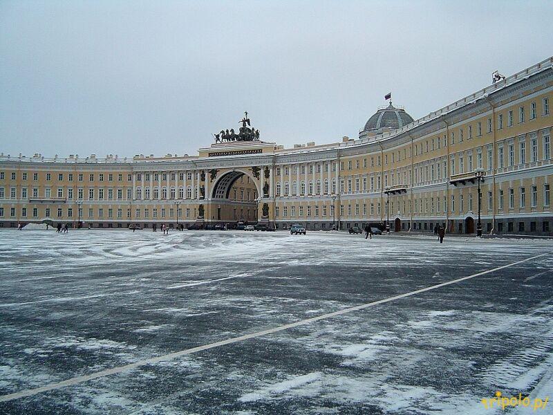 Plac Pałacowy w Sankt Petersburgu