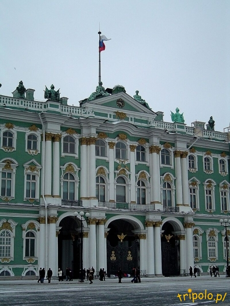 Ermitaż w Sankt Petersburgu