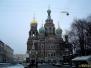 Spacer po Sankt Petersburgu zimą