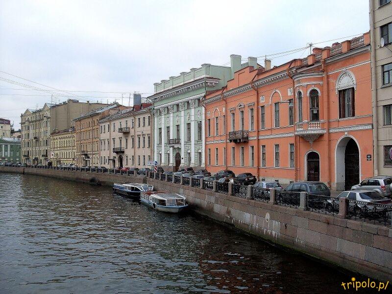 Rzeka Mojka w Sankt Petersburgu