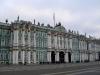 Widok na Ermitaż z Placu Pałacowego