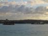 Sydney - wschód Słońca nad zatoką