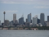 Panorama Sydney od strony zatoki