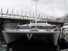 Katamaran w porcie jachtowym w Sydney
