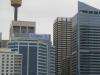 Nowoczesne centrum Sydney widziane od strony zatoki