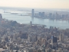 USA, Nowy Jork – Empire State Building - widok na zachód