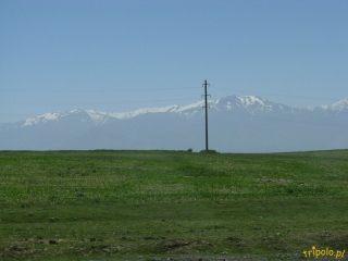 Uzbekistan - widoki po drodze do Samarkandy