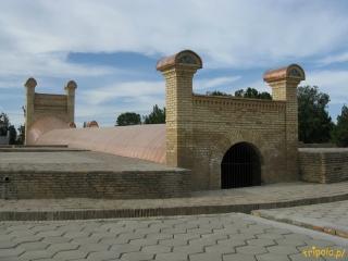 Uzbekistan, Samarkanda - obserwatorium astronomiczne Uług Bega